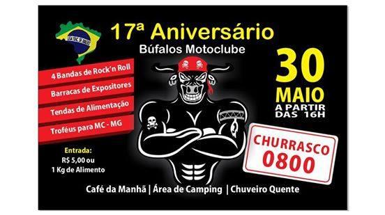 17º Aniversario Bufalo Moto Clube – São José dos Campos/SP