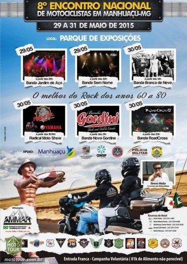 8º Encontro Nacional de Motociclistas em Manhuaçu