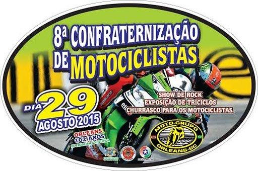 8ª Confraternização de Motociclistas-SC
