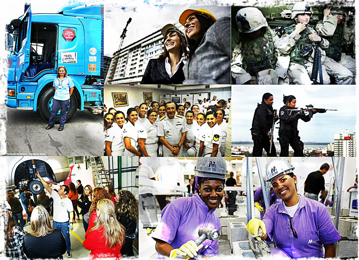 Mulheres Ganhas espaço no Mercado de Trabalho