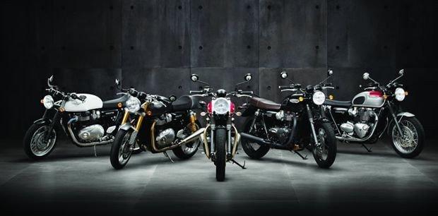 Triumph Bonneville em cinco novos modelos
