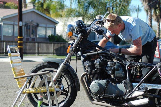 Você sabe cuidar da aparência da sua motocicleta?
