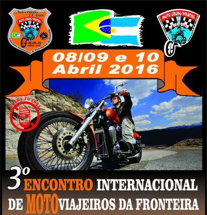 Motoviajeiros Da Fronteira – 3º Encontro Internacional