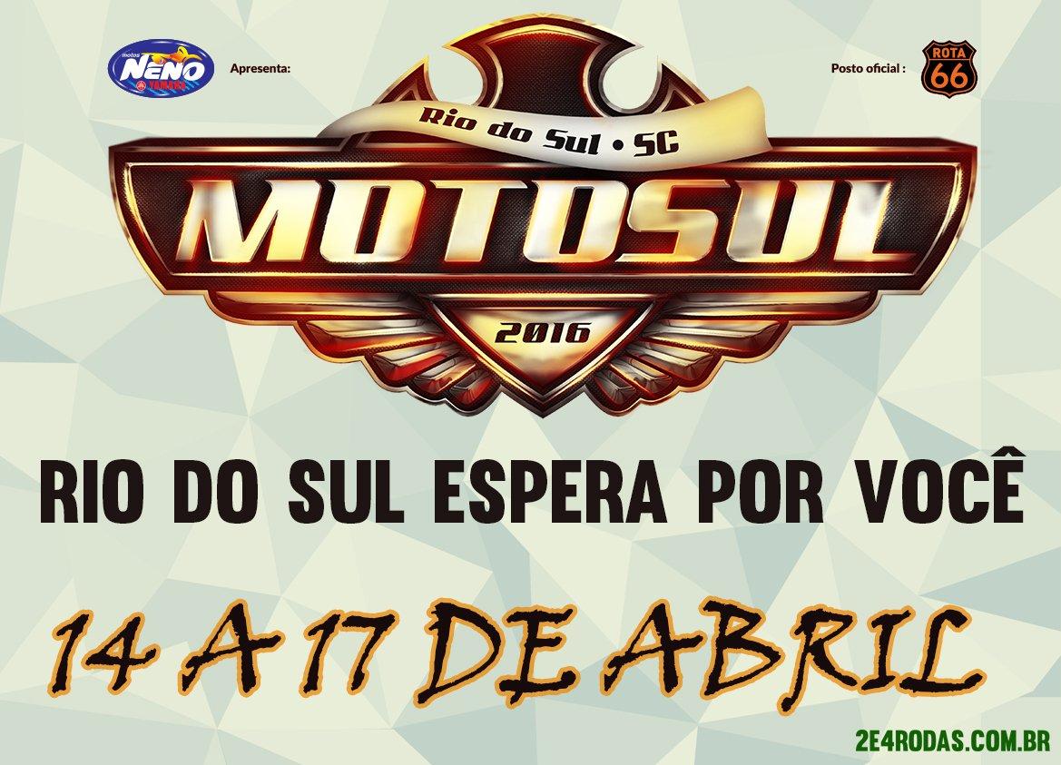 MotoSul 2016 em Rio do Sul/SC