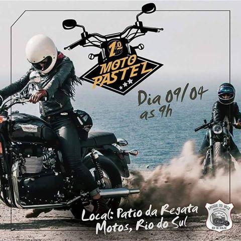 Moto Pastel Amigo do Vale – 1ª edição