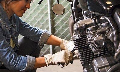 Você faz manutenção na sua moto para usar no final de semana?