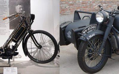 O surgimento da Motocicleta – A máquina de duas rodas
