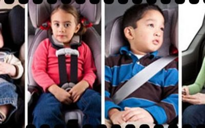 Transportar crianças no carro: Como fazer?